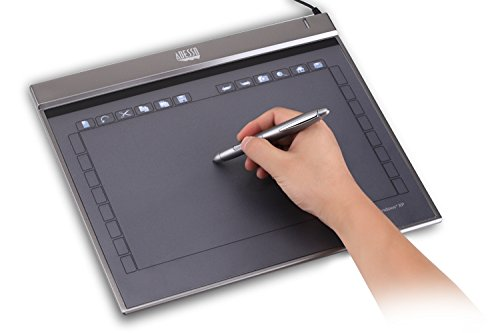 "Adesso Cyber Z12 -10"" x 6.25"" Slim Graphics Tablet"