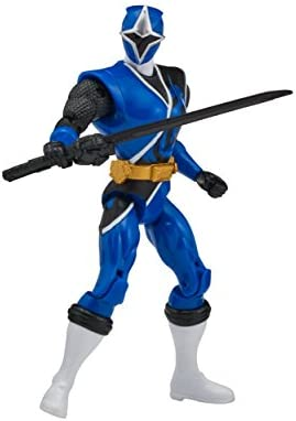 Power Rangers Super Ninja Steel Hero Action Figure, Blue ...