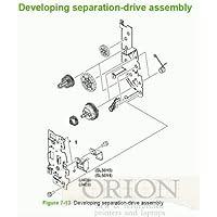 Sparepart: HP DEV. DRIVE ASSY, RM1-2687-000CN