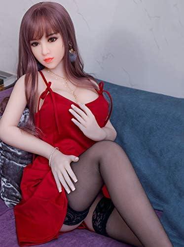 セックス人形、膨らませるセックス人形の胸は水で満たすことができます、実際の人形、セックスロボット人形、セミシリコーン、実際のサイズ165cm