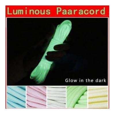 10ft Pakhuis 3m multifonctions lumineux Glow Nylon Paracord corde de parachute - Blue