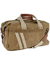 J. Fold – Roadster Duffel | Carry-on with Brass & Leather Trim