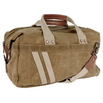 J. Fold – Roadster Duffel | Carry-on with Brass & Leather Trim by J. Fold