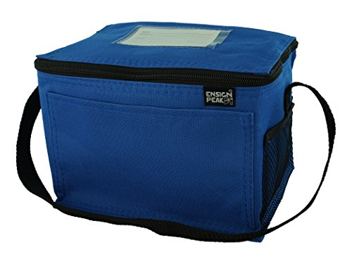 Ensign Peak Insulated Lunch Blue