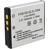 SODIAL(R) High Capacity KLIC-7004 Digital Camera Replacement Lithium-Ion Battery Compatible with Kodak KLIC-7004, Fuji NP-50, Pentax D-LI68