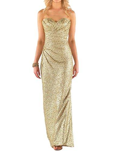Sparkle Bridesmaid Dress - 3