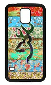 777Life Protective Phone Case Cover for Samsung Galaxy S5 Rainbow Browning Watercolor Cases