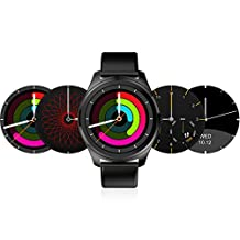 Diggro DI03 Bluetooth Siri Smart watch MTK2502C 128MB+64MB 1.15cm Ultra-thin IP67 Heart Rate Monitor Pedometer Sedentary Remind Sleep Monitor Notifications Pushing for Android & IOS