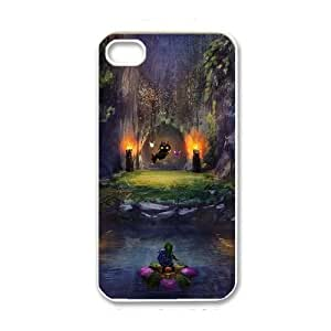 iPhone 4 4s White Cell Phone Case The Legend of Zelda TGKG595851