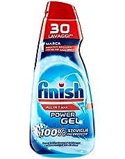Finish Powergel afwasmiddelgel voor vloeibare vaatwasser, multifunctioneel, 100% beschermd servies, verpakking van 30 wasbeurten, 700 g