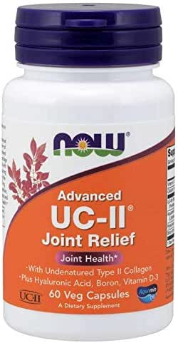 Now Advanced UC-II Joint Relief 60 Veg Capsules (2 Pack)