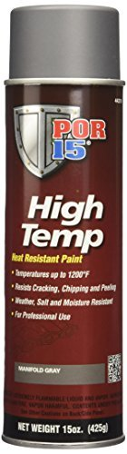 (POR-15 44218 Gray High Temperature Paint Manifold - 15 fl. oz. by)