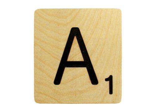 Large 5 Inch Scrabble Tile - A
