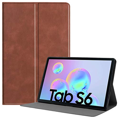 Galaxy Tab S6 10.5 Case, Lyperkin Slim PU Leather Folding Cover Case with Stand Compatible with Galaxy Tab S6 10.5inch T860/T865, Auto Sleep/Awake Function