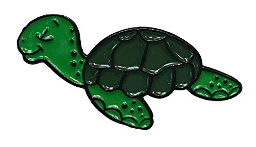 Turtle Pin - Cute Sea Turtle Design Enamel Pin Ocean Life
