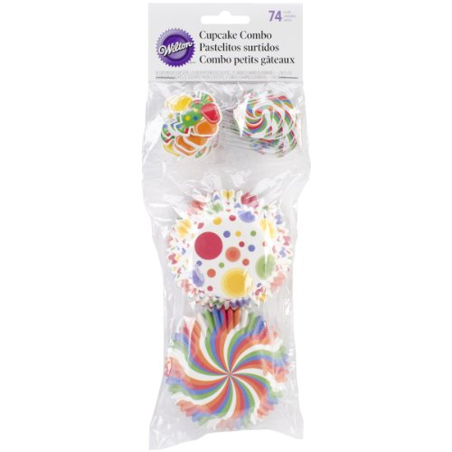 Wilton 415-8119 Combo Candy Cupcake Decorating Kit