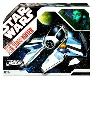 Star Wars 30th Anniversary Clone Wars Saga Vehicle Aayla Secura's Jedi Starfighter ()