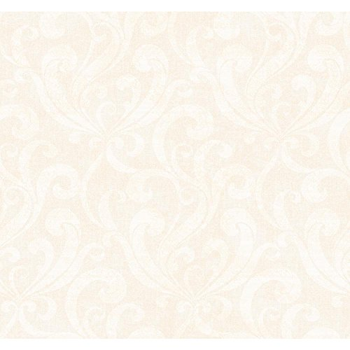 York Wallcoverings SS4399SMP Black and White Book Allover Scroll Wallpaper Memo Sample, 8-Inch x 10-Inch, Gold Metallic/Cream
