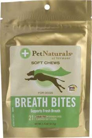 Dog Supplies Breath Bites Soft Chew 21Ct