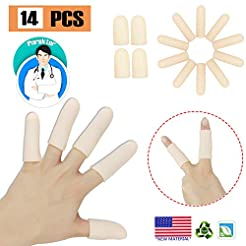 Gel Finger Cots, Finger Protector Suppor...
