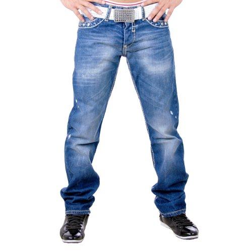 Redbridge Herren Jeans Hose RB-136 Blau