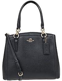 Crossgrain Leather Minetta Crossbody Shoulder Bag