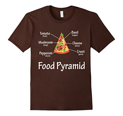 food pyramid pizza shirt - 7