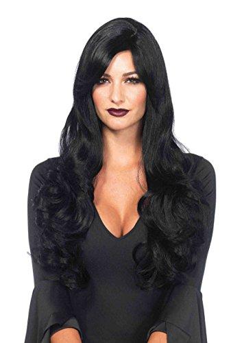 Long Wavy Wig Costume Accessory -