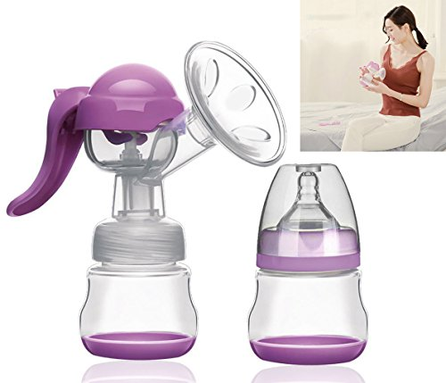 Big Save! BTSHINE Breastfeeding Pump, Easy Hand Pump Breastfeeding Milk Collector
