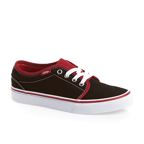 106 Femme Pepper Tone Ou 2 homme Adulte Vans Vulcanized Black Red Chilli dvqSZKT