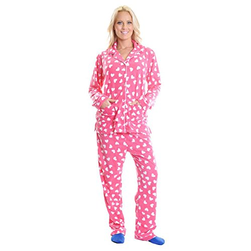 Angelina-Womens-Fleece-Pajama-Set