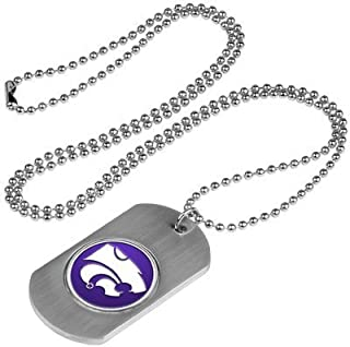 Kansas State Wildcats Dog Tag Necklace by LinksWalker