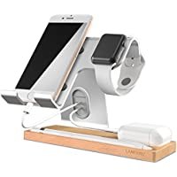Cell Phone Stand, LAMEEKU Apple Watch Stand : Dock Cradle...