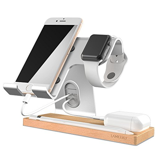 Cheap Stands Cell Phone Stand, LAMEEKU Apple Watch Stand : Dock Cradle Holder For..