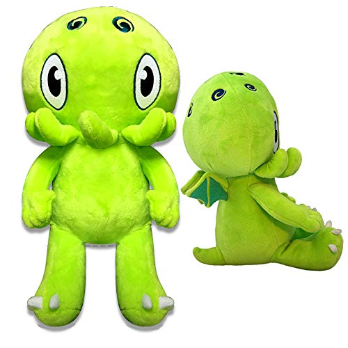 - C is for Cthulhu Jumbo Plush (Green, 2 Feet Tall)