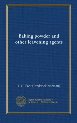 Baking Powder Leavening Agent - Baking powder and other leavening agents