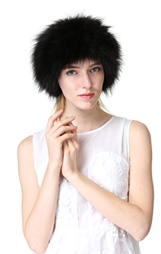 New Fox Fur Headband - 2