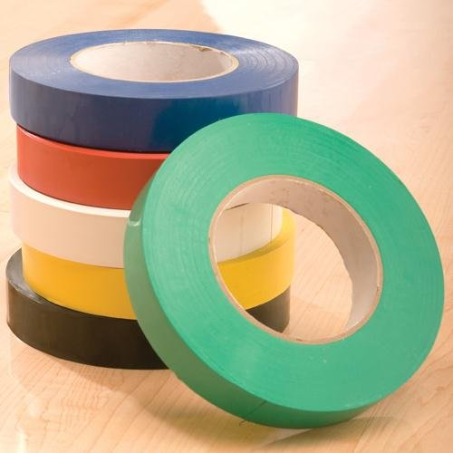 GameCraft Floor Marking Tape, Black, 1-inch x 60-yard (Floor 1)