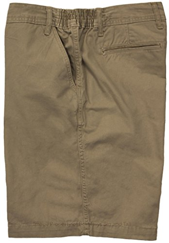 FB Casual Twill Shorts Expandable Waist KHAKI Size 50 #749C