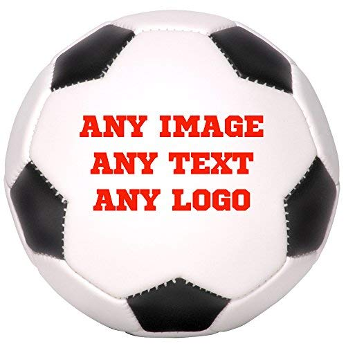 Personalized Soccer Balls (Personalized Custom Photo Regulation Full Size Soccer Ball - Any Image - Any Text - Any)