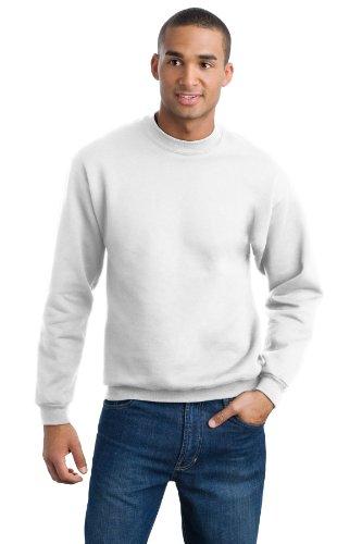 Jerzees Men's Super Sweats Crew Neck Sweatshirt (Super Crewneck Sweatshirt Sweats)