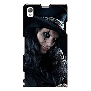 Excellent Hard Phone Case For Sony Xperia Z1 With Custom Colorful Alice Cooper Band Pictures Iphonecase88