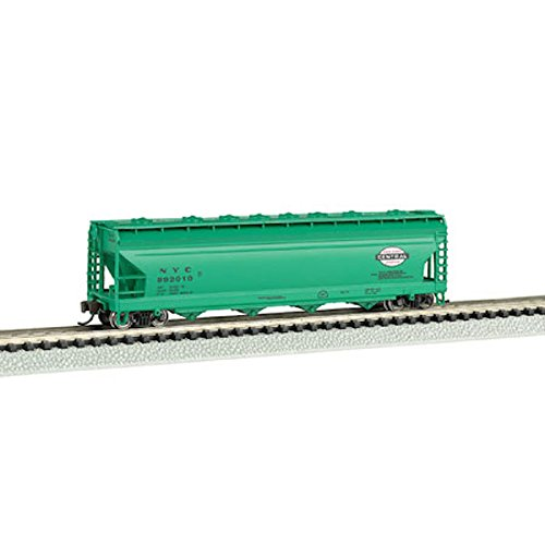 Bachmann Industries NYC ACF 4-Bay Center-Flow Hopper Car (N Scale), ()