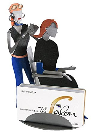 Amazon hair stylist business card holder office products hair stylist business card holder colourmoves Images