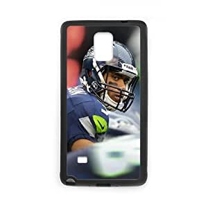 Samsung Galaxy Note 4 Cell Phone Case Black sports 14 Seahawks OJ607328