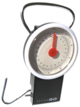Proteam Luggage Scales with Tape Measure