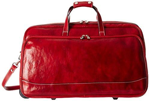Floto Luggage Large Italian Milano Trolley, Tuscan Red, Large (Milano Trolley)