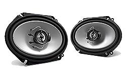 "2) New Kenwood Kfc-c6865s 6x8"" 250 Watt 2-way Car Audio Coaxial Speakers Stereo"
