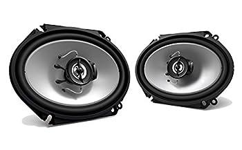 "2) New Kenwood Kfc-c6865s 6x8"" 250 Watt 2-way Car Audio Coaxial Speakers Stereo 0"