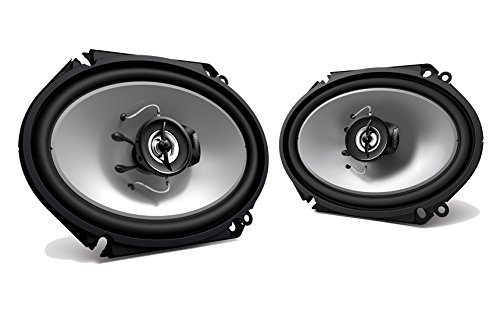 2 New Kenwood KFC-C6865S 6x8 250 Watt 2-Way Car Audio Coaxial Speakers Stereo